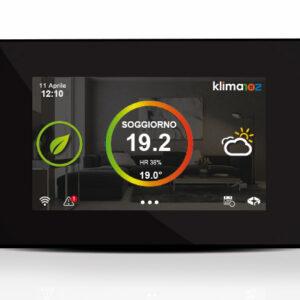 klima Control display touch