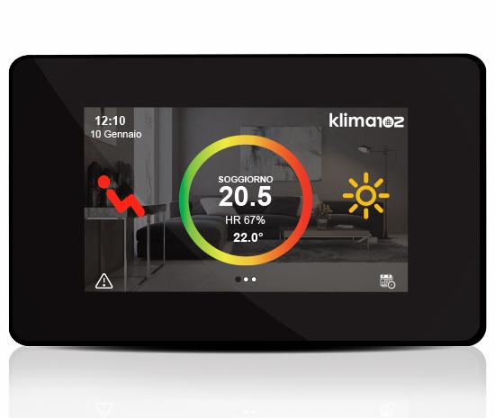 klima control display
